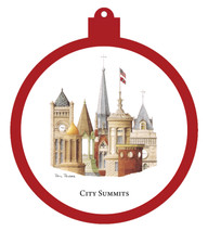 City Summits Ornament