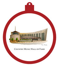 Country Music Hall of Fame Ornament