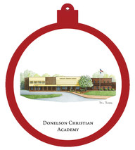Donelson Christian Academy Ornament