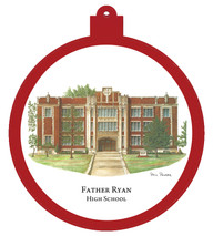 Father Ryan High School Ornament