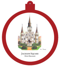 Jackson Square - New Orleans, Louisiana Ornament