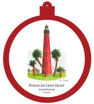 Lighthouse - Ponce de Leon - Florida Ornament