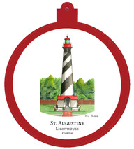 Lighthouse - St. Augustine - Florida Ornament