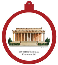 Lincoln Memorial - Washington, D.C. Ornament
