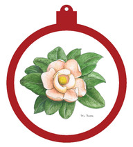 Magnolia Ornament