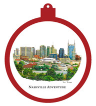 Nashville Adventure Ornament