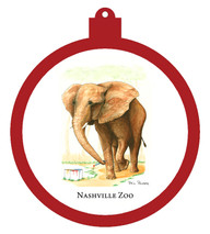 Nashville Zoo Elephant Ornament