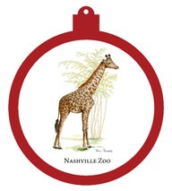 Nashville Zoo Giraffe Ornament