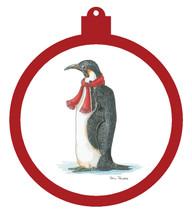 Penguin Scarf Ornament