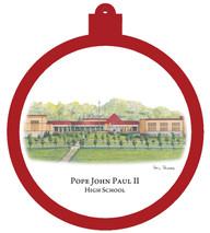 Pope John Paul II High School Ornament