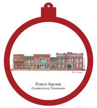 Public Square - Clarksville, Tennessee Ornament