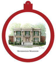 Riverwood Mansion - East Nashville Ornament