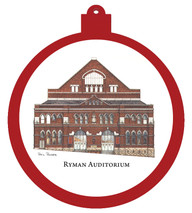 Ryman Auditorium Ornament