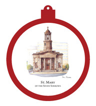 St. Mary of Seven Sorrows Ornament