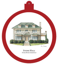 Stone Hall at the Stones River Greenway Ornament