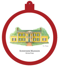 Sunnyside Mansion Ornament
