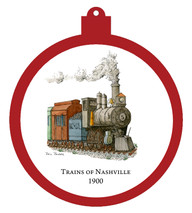 Train - 1900 Ornament
