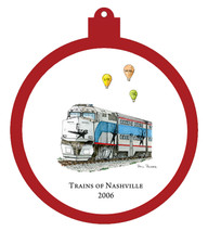 Train - 2006 Ornament