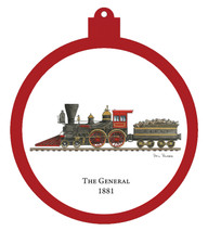 Train - General 1881 Engine Only Ornament