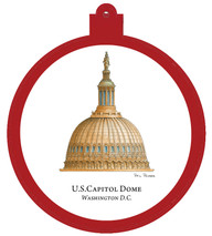 US Capitol Dome - Washington, D.C. Ornament