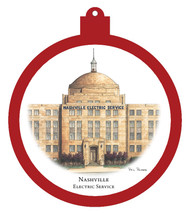 Nashville Electric Service Ornament