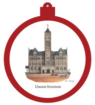 Union Station Ornament