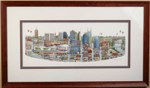 Music City Live - 2013 (Original) framed