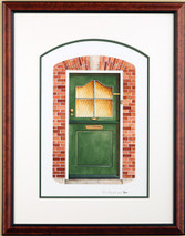 Doors of Holland 2 - 2003 (Original) framed