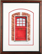 Doors of Holland 3 - 2003 (Original) framed