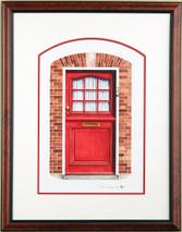 Doors of Holland 3 - 2003 (Original) framed