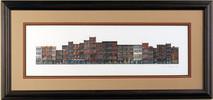 Front Street - 1984 (Original) framed