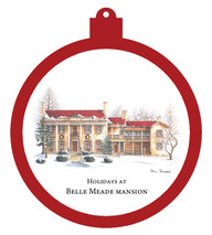 Holidays at Belle Meade Mansion Ornament