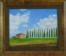 "Inslee, George - ""Tuscany I"" framed"