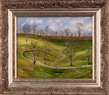 "Inslee, George - ""Sunlight and Shadows"" framed"