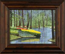 "Inslee, George - ""Kuekenhof II"" framed"