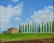 "Inslee, George - ""Tuscany I"" unframed"