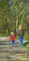 """Inslee, George - """"Son and Shadows"""" unframed"""