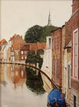 """Inslee, George - """"Brugge"""" unframed"""