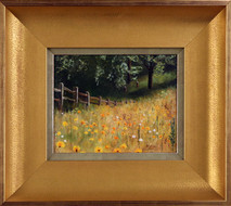 "Inslee, George - ""Field of Gold"" framed"