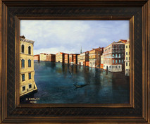 "Inslee, George - ""Grand Canal"" framed"
