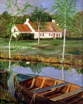 "Inslee, George - ""On the Marsh"" unframed"