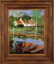 "Inslee, George - ""On the Marsh"" framed"