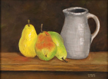 "Inslee, George - ""Three Pears"" unframed"