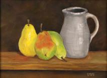 "Inslee, George - ""Three Pears"" unframed"