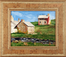 "Inslee, George - ""Webster Mills, PA"" framed"