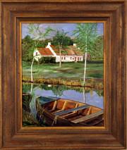"Inslee, George - ""On the Marsh"" original framed SOLD"