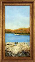 """Inslee, George - """"Lift Off"""" framed"""