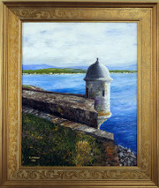 "Inslee, George - ""El Morro Sentry Box I"" framed"