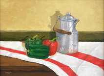 "Inslee, George - ""Milk Pail"" unframed"