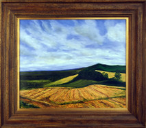 "Inslee, George - ""Up on the Downs"" framed"